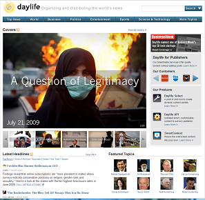 Daylife cover example