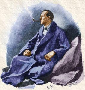 Portrait of Sherlock Holmes by Sidney Paget, 1891
